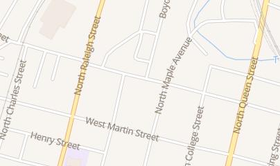 Directions for Ginger's Flower Shops Inc in Martinsburg, WV 317 W Race St