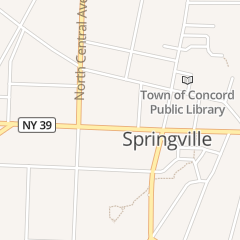 Directions for Springville Lanes in Springville, NY 53 W Main St