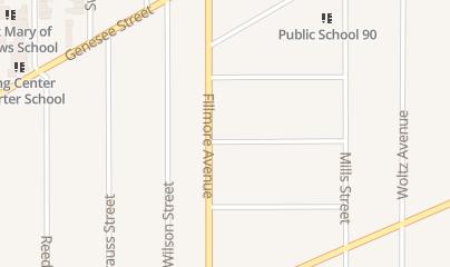 Directions for Buffalo Dumpster Rental in Buffalo, NY 981 Fillmore Ave