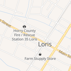 Directions for Cox W F CO Inc in Loris, SC 3959 Main St