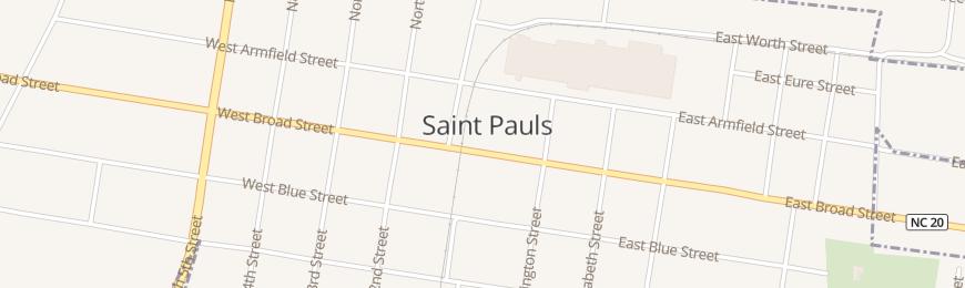 St Paul Nc Map.Ivey S Accounting Service Inc St Pauls In Saint Pauls Nc Tax