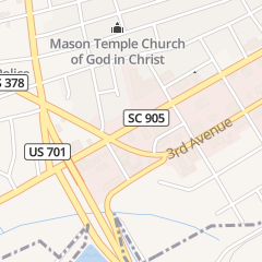 Directions for Waccamaw Floor Covering in Conway, SC 1717 4th Ave Ste A