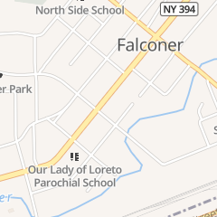 Directions for Tasta Pizza in Falconer, NY 153 W Main St