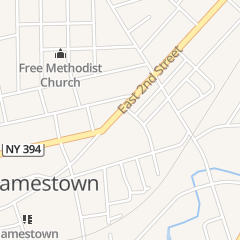Directions for Mitchell Joseph E Ea Inc in Jamestown, NY 604 E 2Nd St