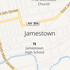 Directions for United States Government in Jamestown, NY 421 E 2Nd St