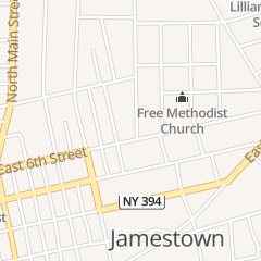 Directions for Pillittieri Peter A Atty in Jamestown, NY 3 Lakeview Ave