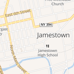 Directions for US Post Office-Jamestown in Jamestown, NY 300 E 3Rd St