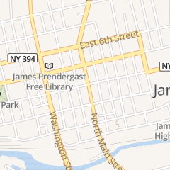 Directions for PNC Bank in Jamestown, NY 405 N Main St
