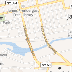 Directions for Post-Journal in Jamestown, NY 15 W 2Nd St