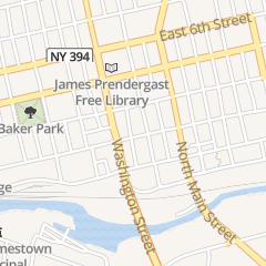 Directions for PIAZZA JEFFREY A ATTY in Jamestown, NY 110 W 3Rd St Ste 600