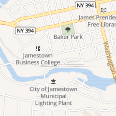 Directions for Mark R Nelson Ins in Jamestown, NY 513 W 3rd St
