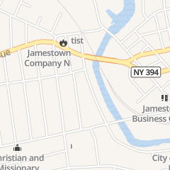 Directions for Painting Unlimited in Jamestown, NY 327 Steele St
