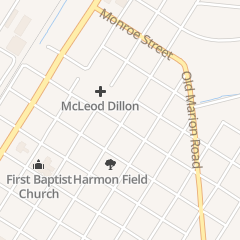 Directions for Mcleod Orthopaedics Dillon in Dillon, SC 705 N 8th Ave Ste 1b