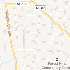 Directions for Alamance Electric Supply in Burlington, NC 1323 Belmont St