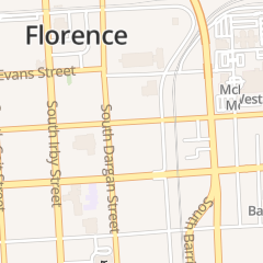 Directions for South Carolina State Government in Florence, SC 125 E Cheves St