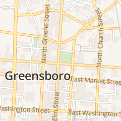 Directions for J D's Nascar Collectibles in Greensboro, NC 216 N Elm St