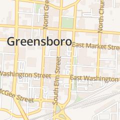 Directions for FINCASTLE RESTAURANT in Greensboro, NC 215 S Elm St