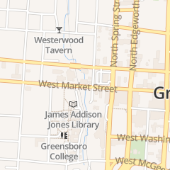 Directions for Live Free Magazine in Greensboro, NC 716 W Market St