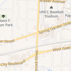 Directions for Spring Garden Diner in Greensboro, NC 1901 Spring Garden St