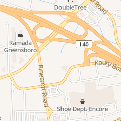 Directions for Joseph's Restaurant in Greensboro, NC Sheraton Greensboro Hotel 3121 High Point Road,