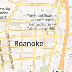 Directions for Hometown Bank - - Downtown Office in Roanoke, VA 202 S Jefferson St