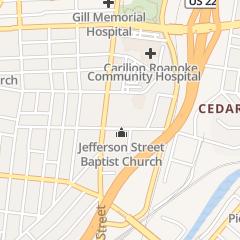 Directions for LI Janet MD in Roanoke, VA 1030 S Jefferson St
