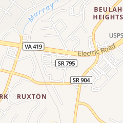 Directions for 419 West in Roanoke, VA 3865 Electric Rd