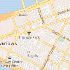 Directions for 21st Street Coffee and Tea in Pittsburgh, PA 225 5th Ave