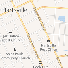 Directions for Newsome Home Appliance Inc in Hartsville, SC 117 Davis St