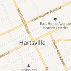 Directions for City Fashions in Hartsville, SC 110 E Carolina Ave