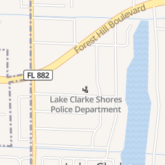 Directions for Town of Lake Clarke Shores - Town Hall in West Palm Beach, FL 1701 Barbados Rd