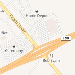Directions for Scott Enterprises in Erie, PA 7851 Peach St
