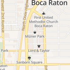 Directions for Mizner Park Management in Boca Raton, FL 201 Plaza Real
