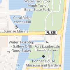 Directions for HOT SCOOTER RENTALS in FORT LAUDERDALE, fl 2910 E SUNRISE BLVD