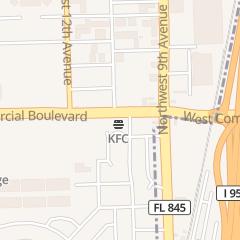 Directions for Valvoline Instant Oil Change in Fort Lauderdale, FL 1000 W Commercial Blvd