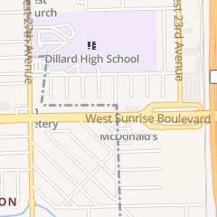 Directions for Church's Chicken in Fort Lauderdale, FL 2401 W Sunrise Blvd