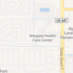 Directions for Comprehensive Outpatient Rehabilitation Facility - Columbia Northwest Medical Center in Margate, FL 2801 N State Road 7