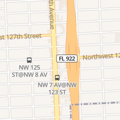 Directions for C in Miami, FL 660 Nw 125 St