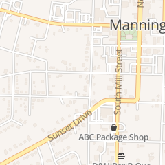 Directions for Quality Appliance in Manning, SC 205 S Boundary St
