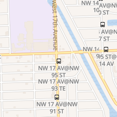 Directions for Central Barber Shop in Miami, FL 9455 Nw 17th Ave