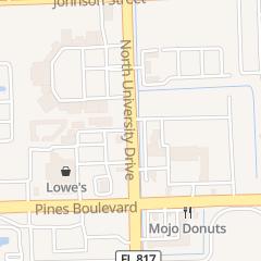 Directions for E Z Funding Group Inc in Pembroke Pines, FL 170 N University Dr
