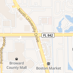 Directions for Spencer Gifts in Fort Lauderdale, FL 8000 W Broward Blvd Ste 210