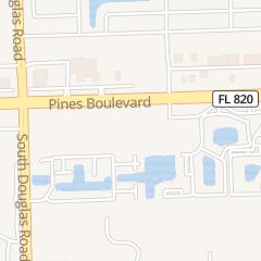 Directions for Enterprise in Pembroke Pines, FL 8600 Pines Blvd