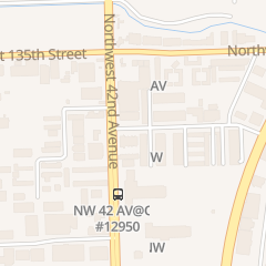 Directions for E and Railing Fence Corp in Opa Locka, FL 4158 Nw 132nd St
