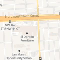 Directions for El Dorado Furniture - Showroom in Opa Locka, FL 4200 Nw 167th St