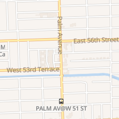 Directions for Joe's Barbershop in Hialeah, FL 5416 Palm Ave