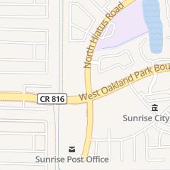 Directions for Accountants Plus Staffing Agency in Sunrise, FL 3431 N Hiatus Rd