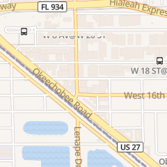 Directions for Rey Chavez Distributors Corp Ii in Hialeah, FL 780 W 17th St