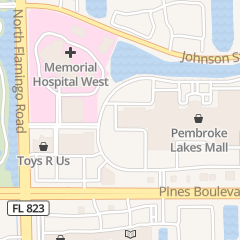 Directions for BUDGET in PEMBROKE PINES, FL 12055 PINES BLVD