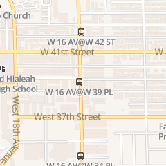 Directions for Hialeah's Finest Detailed Cuts in Hialeah, FL 3881 W 16th Ave